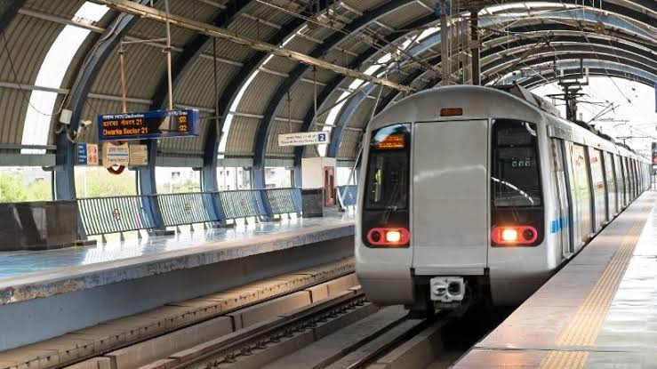 Image result for Delhi Metro a good option to Travel""