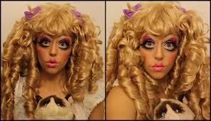 cartoon doll theatre makeup tutorial