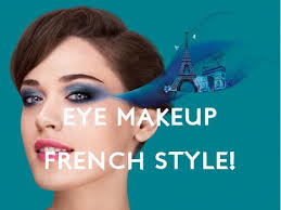 applying your eye makeup french style