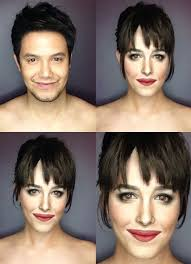 guy has been doing things with makeup
