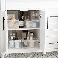bathroom cabinet storage organization