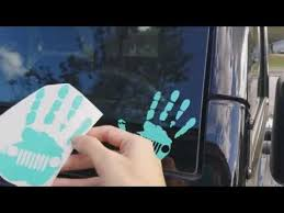 Jeep Wave Decals Youtube
