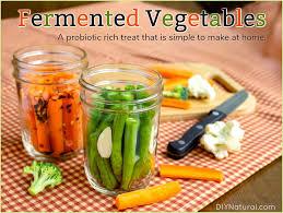 fermented vegetables a probiotic treat