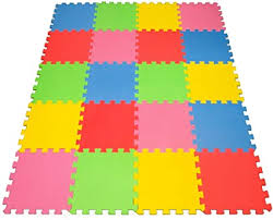 Amazon Com Angels 20 Xlarge Foam Mats Toy Ideal Gift Colorful Tiles Multi Use Create Build A Safe Play Area Interlocking Puzzle Eva Non Toxic Floor For Children Toddler Infant Kids Baby Room
