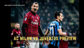 AC Milan vs Juventus Coppa Italia semi-final live streaming ...