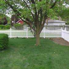 Weatherables Ellington 4 Ft H X 8 Ft W White Vinyl Picket Fence Panel Kit Pwpi 3sc 4x8 The Home Depot