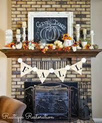 top 17 thanksgiving mantel designs