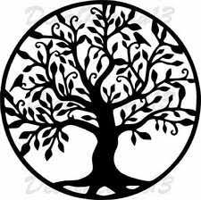 Wall Decor Vinyl Sticker Decal Celtic Tribal Tree Art Symbol Life Nature For Sale Online