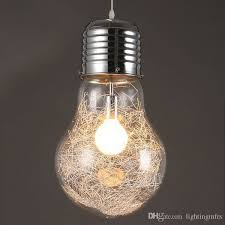 bulb pendant lamp lighting bulbs
