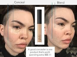 makeup do you put on your face
