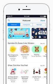 Stickers Take Iphone By Storm Apple