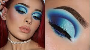 how to rock blue eyeshadow like a boss