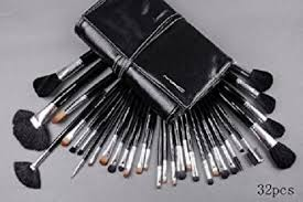 mac makeup brush set for women 32 pcs