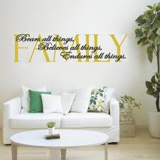 Family Living Room Wall Decals Stickers Sweetums Wall Decals