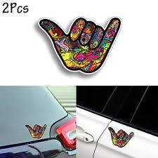 7 Hangloose Hang Loose Hand Symbol Car Decal Sticker Jdm Shaka Surfing Greeting Archives Statelegals Staradvertiser Com