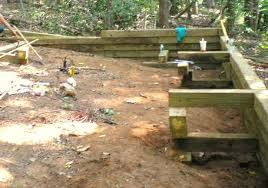 how to build 6x6 wood retaining wall