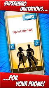Invitaciones De Cumpleanos Superheroes For Android Apk Download