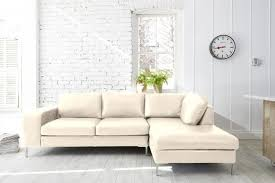 decorating with a cream leather sofa