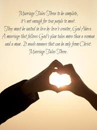 marriage takes three god must be at the center marriage quotes