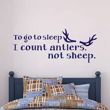 Home Garden Stickers Count Sheep And Go To Sleep Childrens Bedroom Wall Art Vinyl Sticker Decal Home Garden Stickers