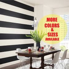 Custom Wall Stripe Decal Room Stripe Wall Tape Custom Sizes And Colors American Wall Designs