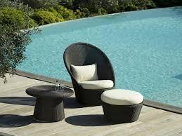 cane line kingston coffee table pool