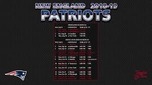 new england patriots wallpaper schedule