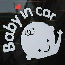 Baby On Board Rear And Windshield Car Window Decal Sticker For Sale Online Ebay