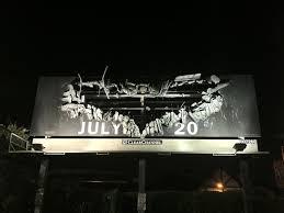 see a cool billboard for dark knight rises