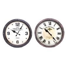large rustic wall clock wall clock