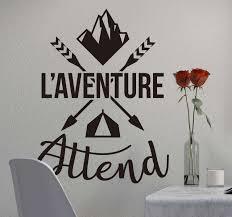 Adventure Awaits Wall Sticker Tenstickers
