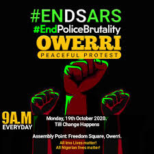 End SARS Now or Now ...