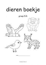 Werkboekje Dieren Dieren Activiteiten Dieren Dierentuindieren