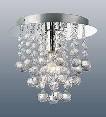 flush fitting chandelier ceiling light