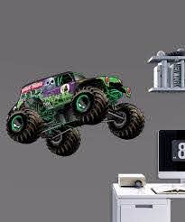 Monster Jam Gravedigger Fathead Jr Wall Decal Set Of Five Best Price And Reviews Zulily