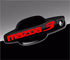 Mazda 3 Decal Gs Gx Gt Sport Racing Car Vinyl Decal Stickers Graphics Emblem 8pc Ebay