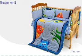 crib bedding set 7pc nursery