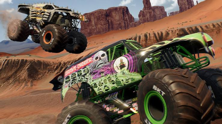 Monster jams steel titans gameplay