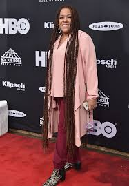 Felicia Collins - Felicia Collins Photos - 33rd Annual Rock & Roll Hall Of  Fame Induction Ceremony - Arrivals - Zimbio