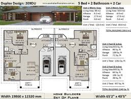 5 bed 2 bath duplex house plans 3 x 2