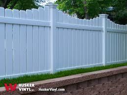 Semi Privacy Fence Husker Vinyl Inc