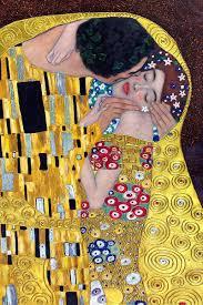 Klimt - The Kiss (Luxury Line) - Hand painted oil painting reproductions  available at overstockArt.com #art | Art painting, Gustav klimt, Klimt