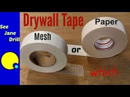 which drywall tape is better paper or