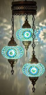 turkish moroccan mosaic ceiling light