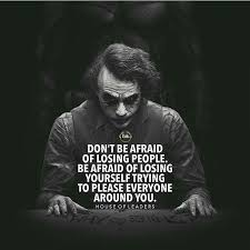 joker quotes perfects home