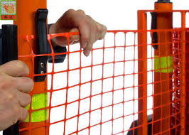 Strong Orange Plastic Construction Fence Warning Barrier Fence Pe Material Of Plastic Construction Netting