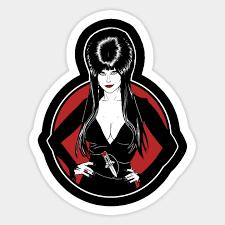 Elvira Elvira Sticker Teepublic