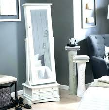 floor mirror with storage bentia
