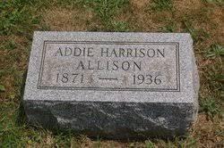 Addie E Harrison Allison (1872-1936) - Find A Grave Memorial