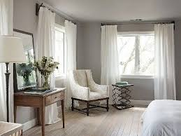 choosing curtains for a grey room